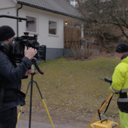 Reel Media Nordic - Filming a commercial for civil engineers