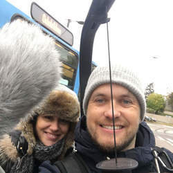 Reel Media Nordic - Filming trams in Oslo for a commercial