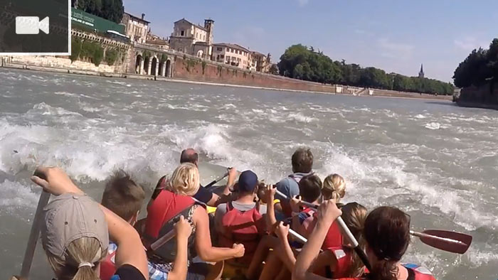Reel Media Nordic - Verona – Rafting on the river Adige